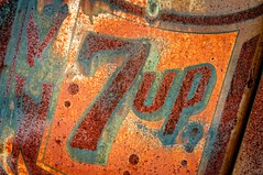 7up (rickhanger) Tags: sign rust rusty 7up 7upsign