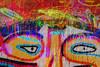 Street art Rue Denoyez Paris (Marco Braun) Tags: streetart graffiti paris 2016 colourful coloured bunt auge eye abstrakt abstrait francefrankreich
