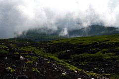 Cloud on Mount Fuji (pokoroto) Tags: cloud mount fuji  fujisan yamanashi prefecture   japan 8   hachigatsu hazuki leafmonth 2016 28 summer august