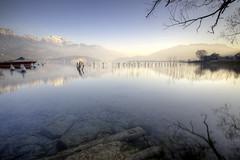 Lac d'Annecy [FR] (ta92310) Tags: travel hdr 74 lac lake annecy canon 6d autumn 2016 rhônealpes hautesavoie longexposure nd400 landscape paysage