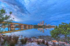 Morning Blue Hour (satochappy) Tags: morning dawn bluehour river parramattariver sydney australia