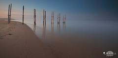 Negative space (nldazuu.com) Tags: steiger zonsondergang waddeneiland water paal33 panorama evening herfst beach 845mmfiltersultimateline lucht texel wadden leelandscapepolariser sluitertijd filters huissen avondkleuren herfstvakantie decocksdorp noordholland netherlands nl