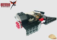 [LEGO®] Batman Beyond Batmobile (first version). (NikeSmi) Tags: lego nikesmi moc batman batmanbeyond batmobile comics comicbook dc