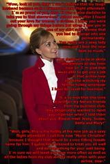 Stewardess (Marie-Christine.TV) Tags: stewardess flight attendant feminine lady mariechristine skirtsuit kostüm flightattendant