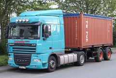 DAF XF (michaelausdetmold) Tags: daf xf lkw truck fahrzeug sattelzugmaschine szm