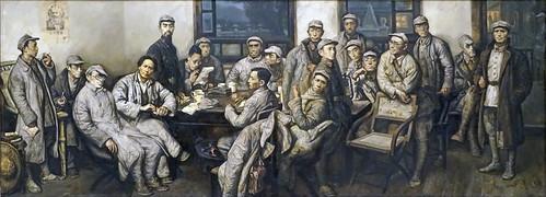La réunion de Zunyi (Musée national de Chine, Beijing)