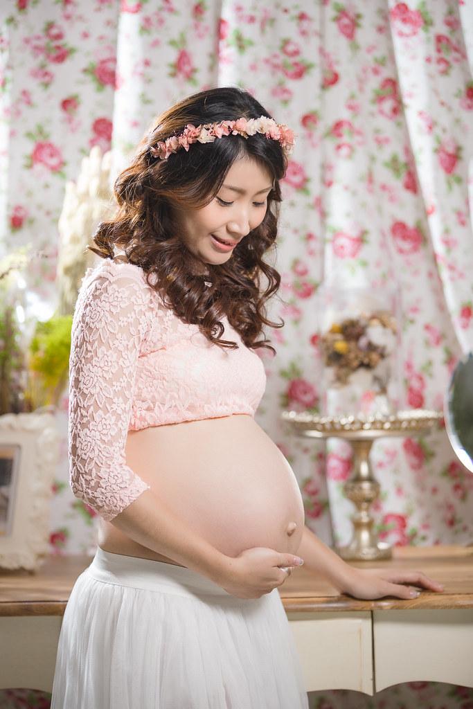 孕婦寫真,孕婦攝影,孕婦棚拍,婚攝卡樂,161217筱琪03