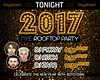 TONIGHT - WE BRING YOU 2017