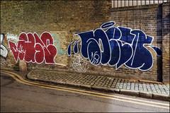 Use / Soeta (Alex Ellison) Tags: use lsd soeta throwup throwie eastlondon urban graffiti graff boobs shoreditch night