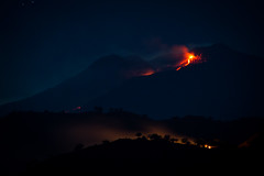 Etna and forest fire (Nikeee_) Tags: 2014 august ausbruch beben berg catania erdbeben eruptionen etna feuer himmel italien italy lava messina mongibello natur schlacke sicily sizilien sommer urlaub vulkan waldbrand blast brenne burn burst detonation earthquake eruption explosion fire forest gigantic gigantisch mounten nature night quake red sky slag summer vacation volcano ätna