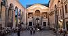 Split - Spalato, il peristilio del Palazzo di Diocleziano (Valerio_D) Tags: split spalato croazia hrvatska croatia dalmazia dalmacija 2016estate dioklecijanovapalača diocletianspalace 1001nightsmagiccity