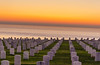 Fort Rosecrans National Cemetery (naveenm1080p) Tags: sunset san dieago cemetery usa sun colors nikon nikond700 historic national monument ocean landscape landscapes sandiego california orangecounty