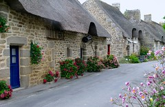 "Toits de chaume ""Bretagne-Morbihan - France"" (josianelavielle) Tags: maisons toits de chaume"