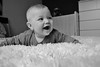 Baba kev (kotryna cikanaviciute) Tags: baby blackandwhite bw portrait laughter happy happiness cute newborn family smile smiles kids kid