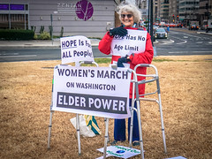 2017.01.21 Women's March Washington, DC USA 2 00132