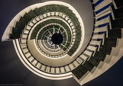 Energy Swirl (katrin glaesmann) Tags: hamburg germany stairs wendeltreppe treppenauge eye spiralstaircase photowalkwithmichael fotowalkmitmichael fotowalkmitmichio treppe banister hammerbrook