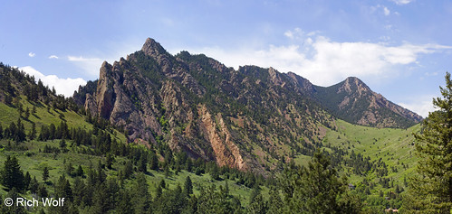 Photo - View on the Goshawk Ridge trail - City of Boulder Open Space and Mountain Parks