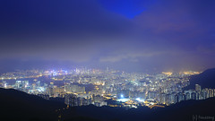 Kowloon Peak - Fei Ngo Shan (tomosang R32m) Tags: hongkong kowloon kowloonpeak 香港 九龍 飛鵞山道 飛鵞山 飛鵝山道 飛鵝山 九龍ピーク 夜景 night longexposure feingoshanroad clearwaterbay 清水灣 清水湾 victoriaharbour ビクトリアハーバー 維多利亞港 canon eos 6d yakei nightview nightscape peak fei ngo shan feingoshan