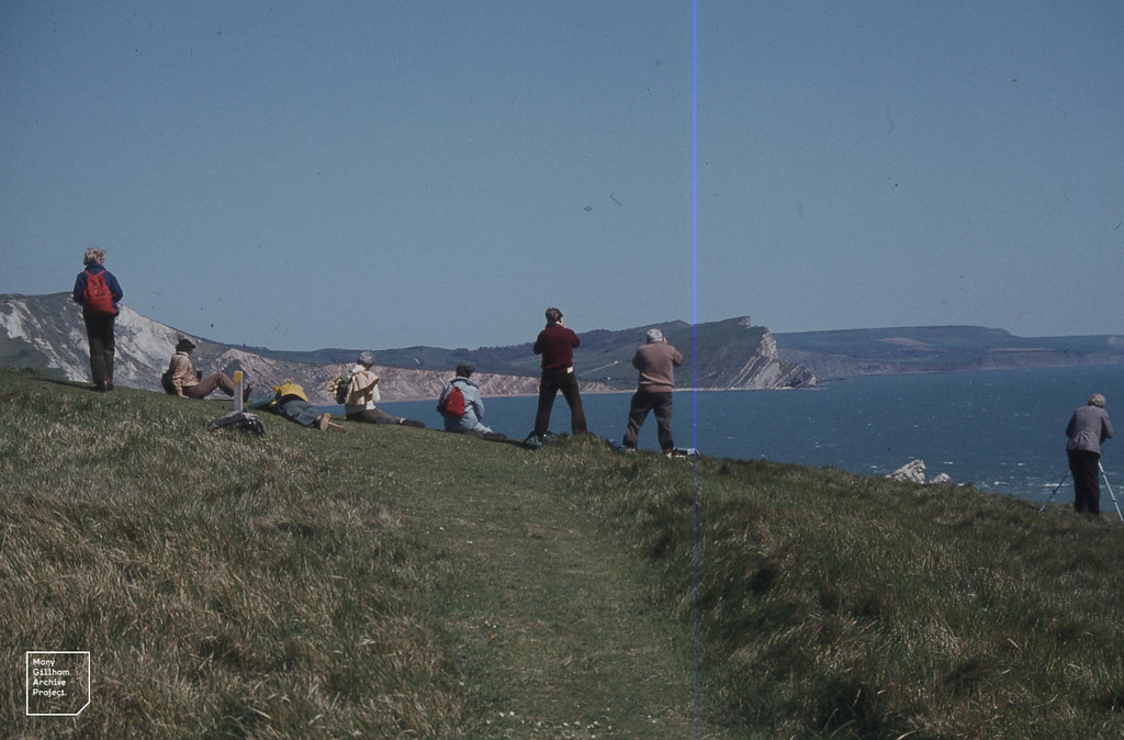 View to Kimmeridge from Lulworth.