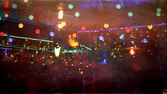 Night club lights in Puerto Vallarta at night (elizabatz.jensen) Tags: shooting dark withoutatripod photoapp stackables puertovallarta night lights nightclub