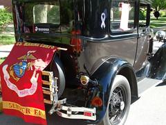Semper Fi (e r j k . a m e r j k a) Tags: cars vintage ride pennsylvania flag banner marines allegheny sewickley i79pa upperohiovalley pa65 erjkprunczyk