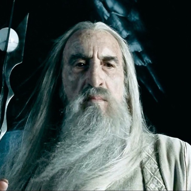 RIP CHRISTOPHER LEE. Perhaps the greatest screen wizard ever. Sorry Gandalf.