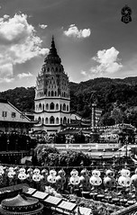 Kek Lok Si #Temple (The.Creativity.Engine) Tags: pictures new old city travel summer vacation portrait urban blackandwhite bw white holiday inspiration black color art history monochrome architecture composition canon square landscape fun photography photo blog flickr photographer god photos pics wordpress buddha buddhist faith religion buddhism pic monotone monochromatic squareformat gods moment dslr capture mythology pilgrimage bnw pilgrim facebook iphone travel2 photography2 550d iphoneography instagramapp