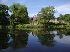 Finchale Priory, Durham 02 (Entrobus) Tags: summer england abbey river landscape durham riverwear monastery benedictine forests priory finchale pityme