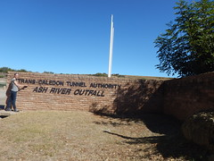 Ash River Outfall Entrance (range commander) Tags: africa southafrica lesotho freestate drinkingwater 2015 ashriveroutfall lesothowaterhighlandsproject