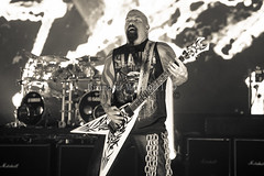 Slayer- (B. Marshall) Tags: usa fire colorado performing redrocks slayer morrison 2015 reigninblood kerryking tomaraya redrocksamphitheatre mayhemfestival garyholt