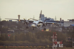 Antonov An-26 (The best from aviation) Tags: 1dx 7dm2 alexbabashov led pulkovo air aircraft airjet airplane avia best canon jet photo plane planes planespotting spot spotter spotters spotting saintpetersburg russia rus antonov an26 landing 100v10f anawesomeshot travel