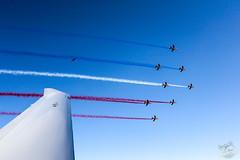 Vol avec la Patrouille de France (Les Vols de Max) Tags: sky france de la flight jet ile diamond da 40 vol easy r avion aix g1000 rochelle garmin patrouille