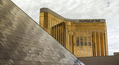 Luxor and Mandalay Bay (Stephen P. Johnson) Tags: las vegas place lasvegas nevada casino luxor 201505240005