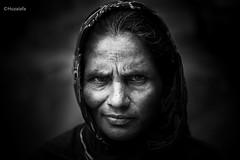 A heartbroken woman (Abdullah Al Huzaifa) Tags: she life street woman money eye monochrome look canon children sadness tears alone sad homeless innocent lifestyle beggar orphan hate dhaka bangladesh pathetic painful slum helpless speechless thrown heartbroken housemaid