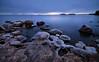 December Blues (tinamar789) Tags: ice rocks sea seashore seascape sunset frost frozen horizon blue hour nature cold lauttasaari helsinki finland