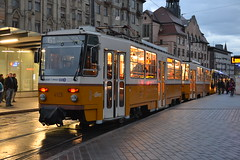 BKK 4129 (Will Swain) Tags: 6th november 2016 széll kálmán tér tram trams light rail railway rails transport travel europe budapest hungary east eastern county country central capital city centre bkk 4129
