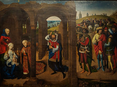 """""""Adoration of the Magi"""", Master of the Legend of St Lucy, c. 1480 (Joey Hinton) Tags: olympus omd em1 cincinnati art museum mft m43 microfourthirds 1240mm f28"""