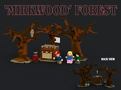 Lego Stranger Things - 'Mirkwood' Forest (bradders1999) Tags: lego digital designer ldd bricks brick built stanger things strange thing season 2 pictures picture render monster monsters creature creatures vehicle van bike bicycle forest trees wood tree house building creative horror movie tv show netflix original series font new news 2017 byers brenner 11 eleven scary creepy 80s 1980s classic cult et star wars spielberg alien aliens
