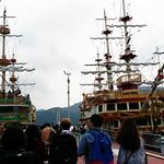 Hakone Bootsfahrt