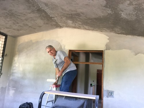 Sprucing up the orphanage