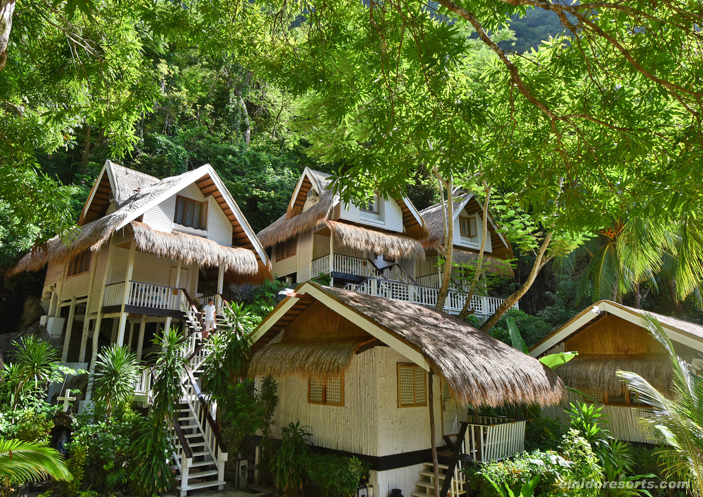 Miniloc Island - Cliff and Garden Cottages (Photocourtesy of El Nido Resorts)