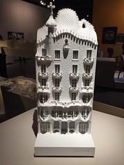Casa Batlló, Antoni Gaudí. (Elias Rovielo) Tags: model maquette casabatlló maquete barcelona gaudí sãopaulo brasil institutotomieohtake exposição arquitetura batllóhouse antonigaudí catalão gaudíbarcelona1900