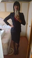 WP_20170116_11_36_21_Rich (Katie Savira) Tags: satinskirt sissy crossdresser secretary