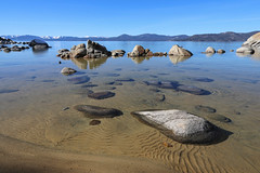 Clear Water of Sand Harbor Cove, Nevada (davidcmc58) Tags: laketahoe lake sandharbor nevada rock water sand