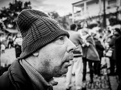 Focused (Vitor Pina) Tags: street streetphotography pessoas scenes shadows photography people portraits pretoebranco portrait pina contrast candid city portait faces face blackandwhite moments momentos monochrome man urban urbano rua
