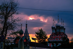vbnvtht5 (olegmescheryakov) Tags: keywords church cathedral architecture city building cityscape old europe street urban sunset clouds light night blue sky travel sun summer sunrise sunshine beautiful tree green cloudscape white black moscow russia outdoor