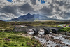 Just...Skye landscape (Javiralv) Tags: skye bridge clouds river mountains scotland landscape escocia paisaje puente agua water nubes