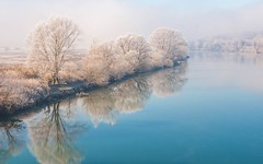 river Kupa (34) - frost (Vlado Ferenčić) Tags: rivers riverkupa frost mistymorning nikond90 nikkor182003556