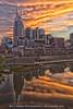 Nashville Skyline Sunset (Bill Hobbs Photography) Tags: nashville skyline cumberland river sunset