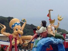 Farglory Ocean Park (benhosg) Tags: octopus mermaid statue hualien fargloryoceanpark 遠雄海洋公園 taiwan